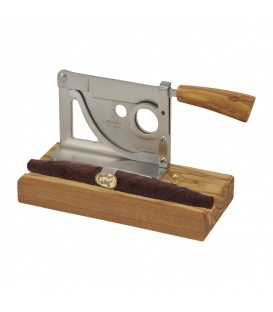 Saladini Classic Tabletop Cutter Olive Wood