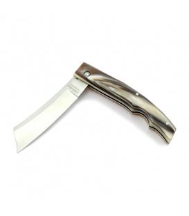 Saladini Rasolino Magnum Cigar Cutter Ox Horn